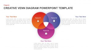 Creative Venn Diagram Template for PowerPoint & Keynote