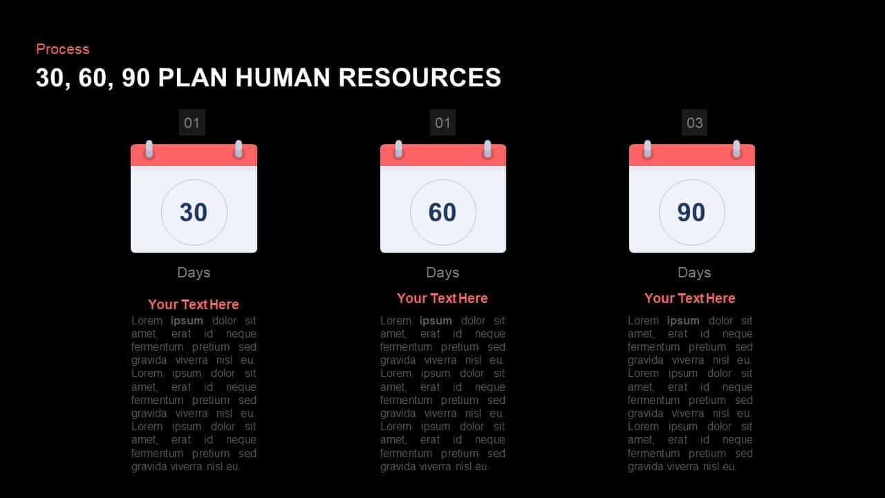 30 30 30 Day Plan Template for Human Resources   Slidebazaar