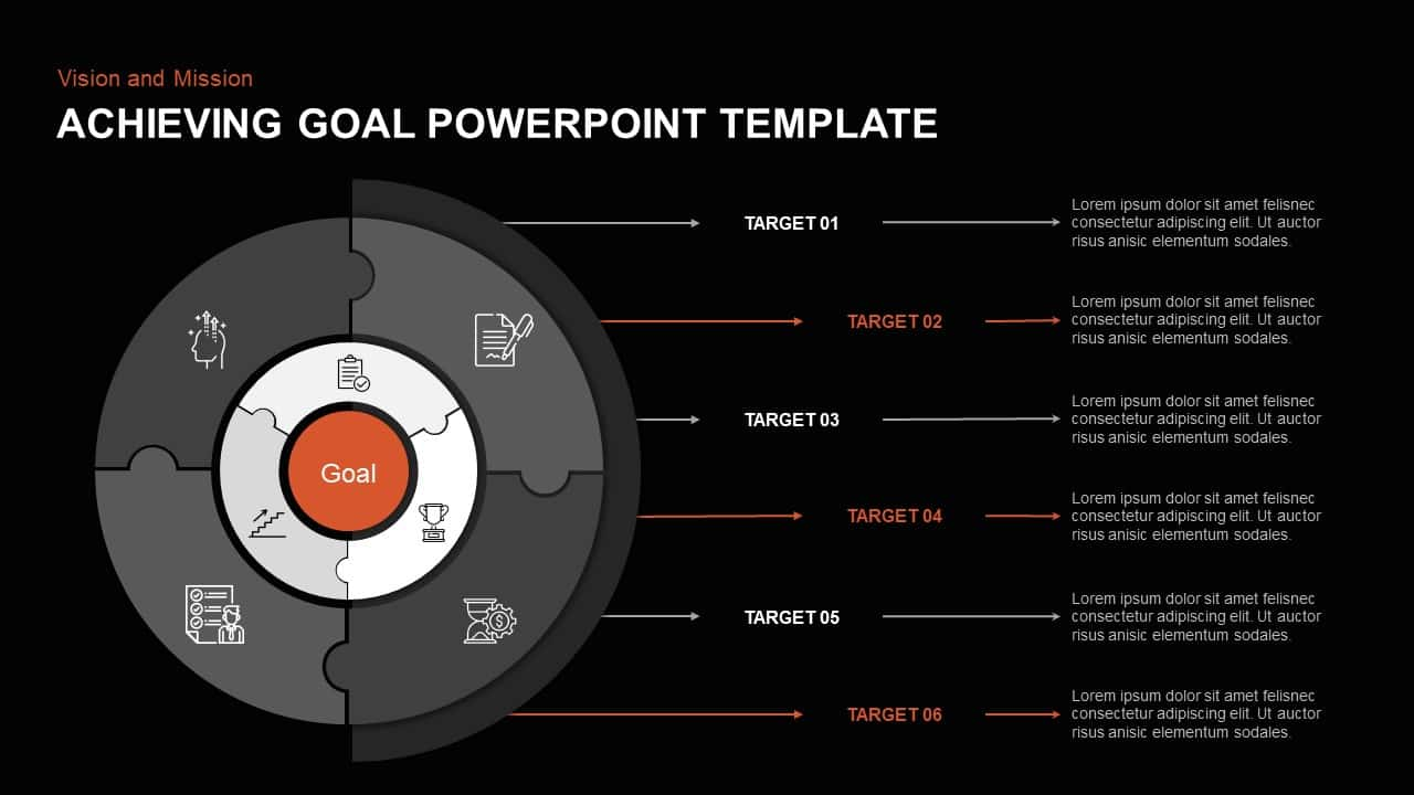 Achieving Goal Template for PowerPoint
