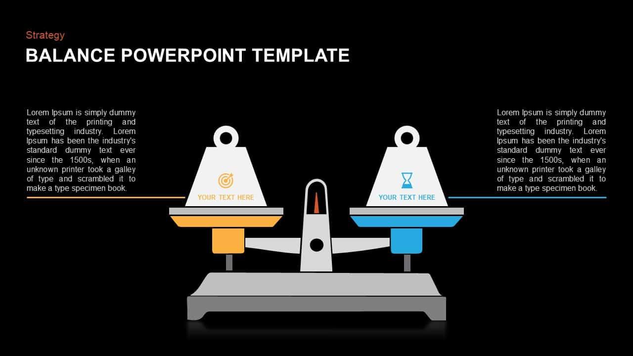 Balance PowerPoint Presentation Diagram