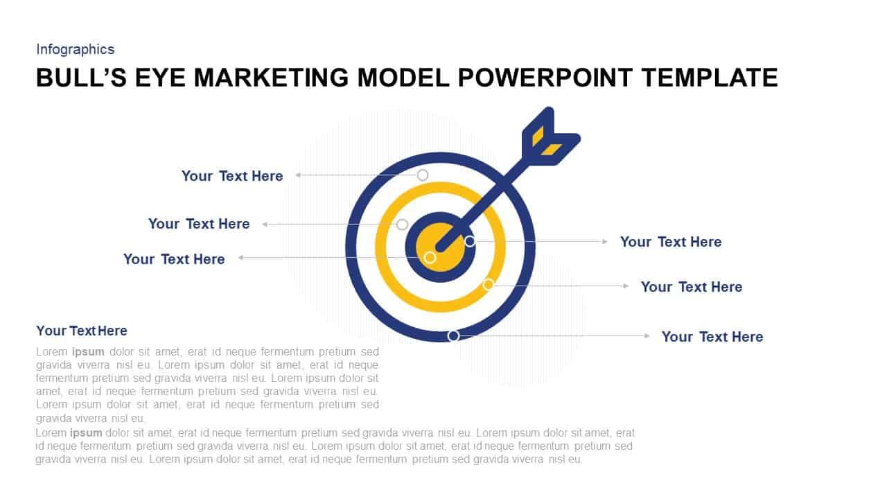 Bull's Eye Marketing Model Template for PowerPoint