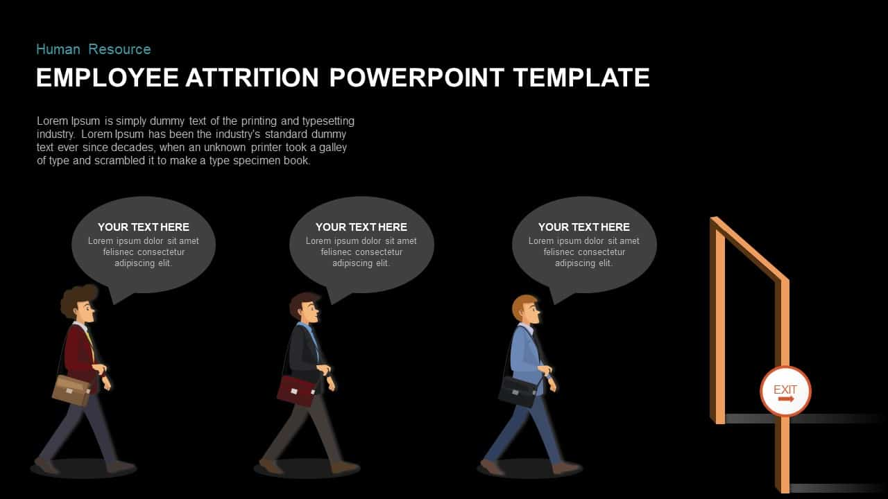 Employee Attrition PowerPoint Template