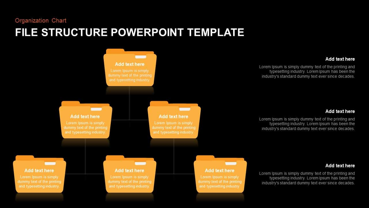 File Structure PowerPoint Template