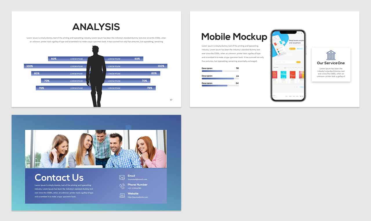 Free Creative Presentation PowerPoint Template