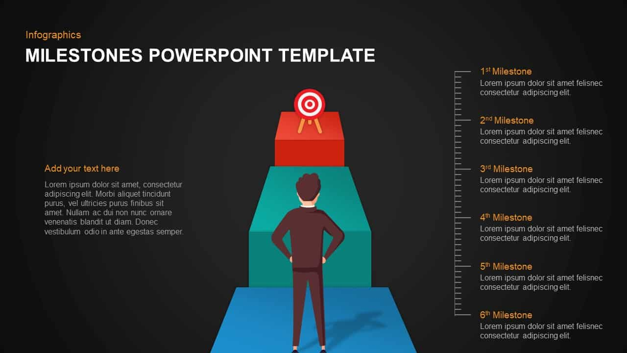 Milestones Template for PowerPoint