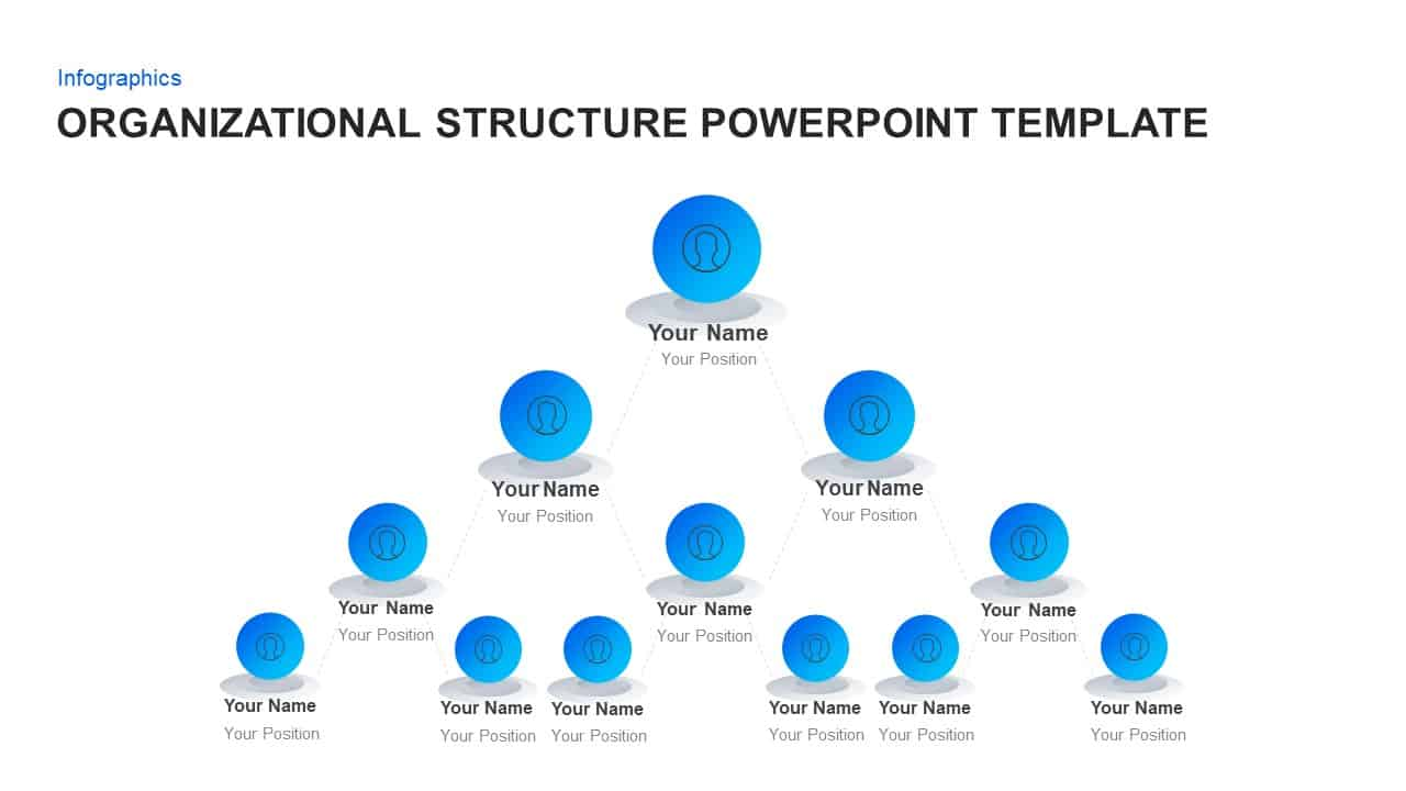 organizational structure template ppt for powerpoint keynote. Black Bedroom Furniture Sets. Home Design Ideas