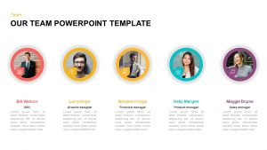 Our Team PowerPoint Template & Keynote Diagram