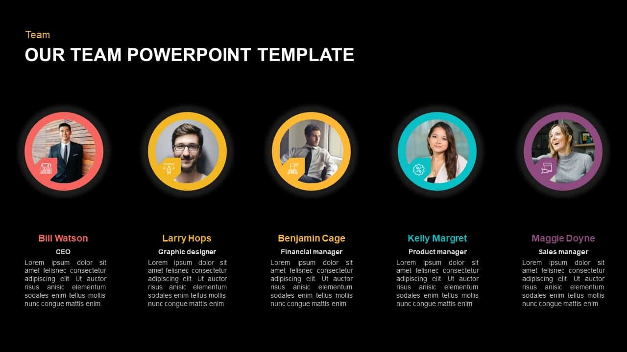 Our Team Template for PowerPoint
