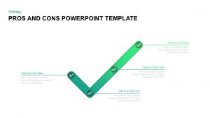Pros and Cons Template for PowerPoint & Keynote