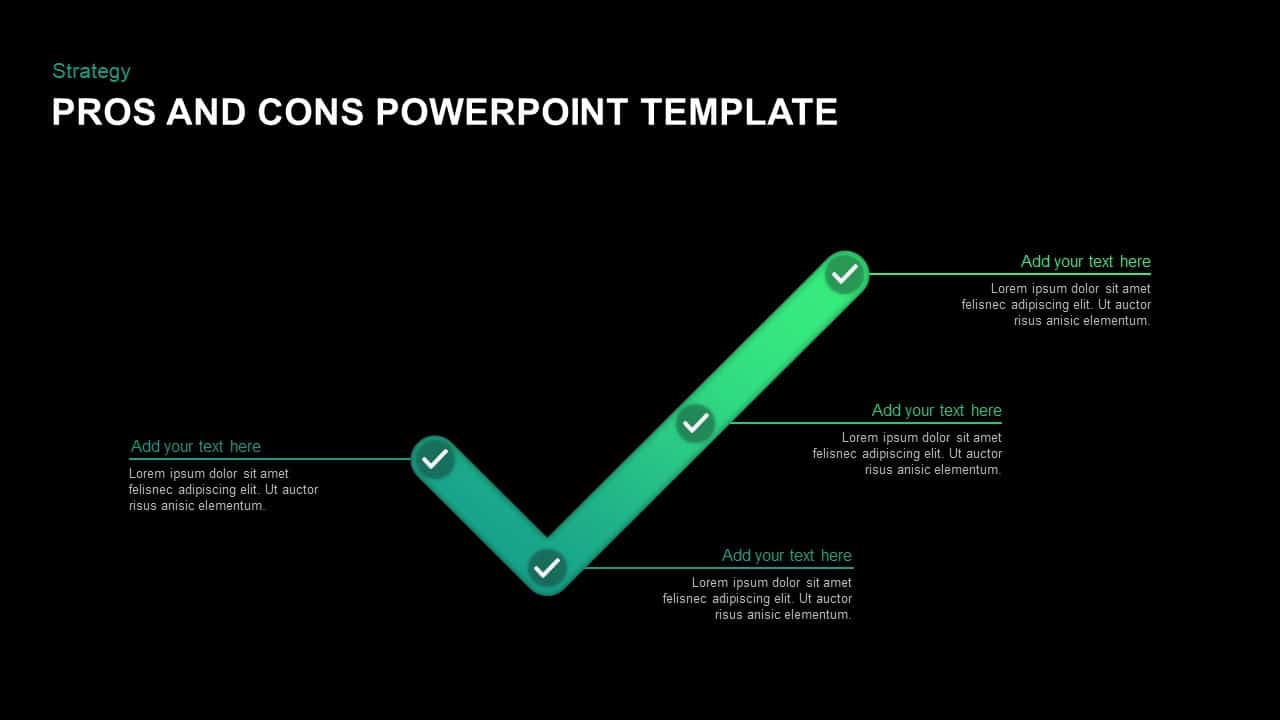 Pros and Cons Template for PowerPoint