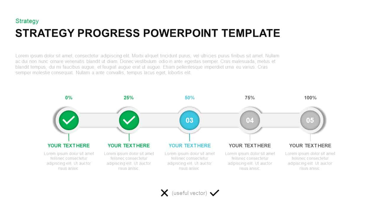 Powerpoint Status Report Template from slidebazaar.com