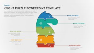 Knight Puzzle Template for PowerPoint & Keynote