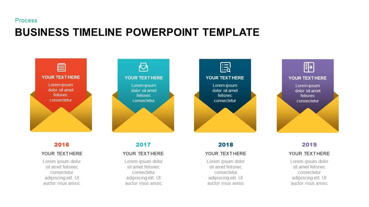 Business Timeline PowerPoint Template
