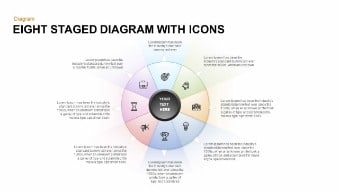 Eight Staged Circular Diagram Free Google Slides Theme