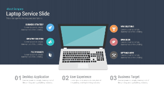 Laptop Service Slide Free Google Slides Theme