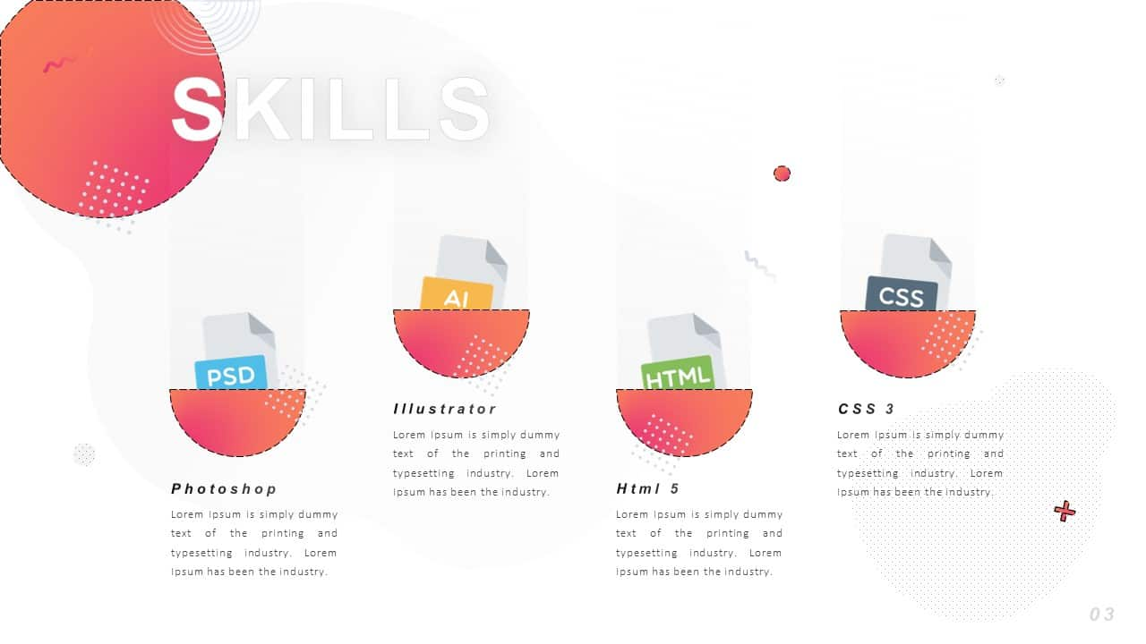 personal cv powerpoint template ppt free download