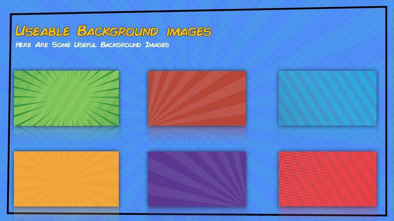 Free Comic Book Powerpoint Template For Download Slidebazaar