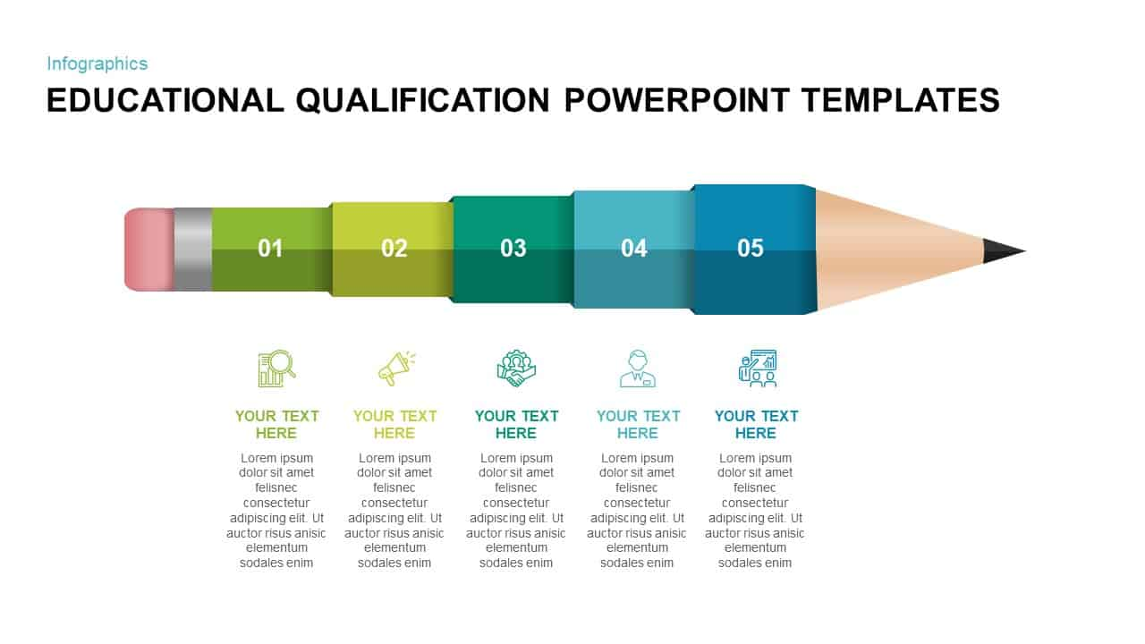 Educational Qualification PowerPoint Template