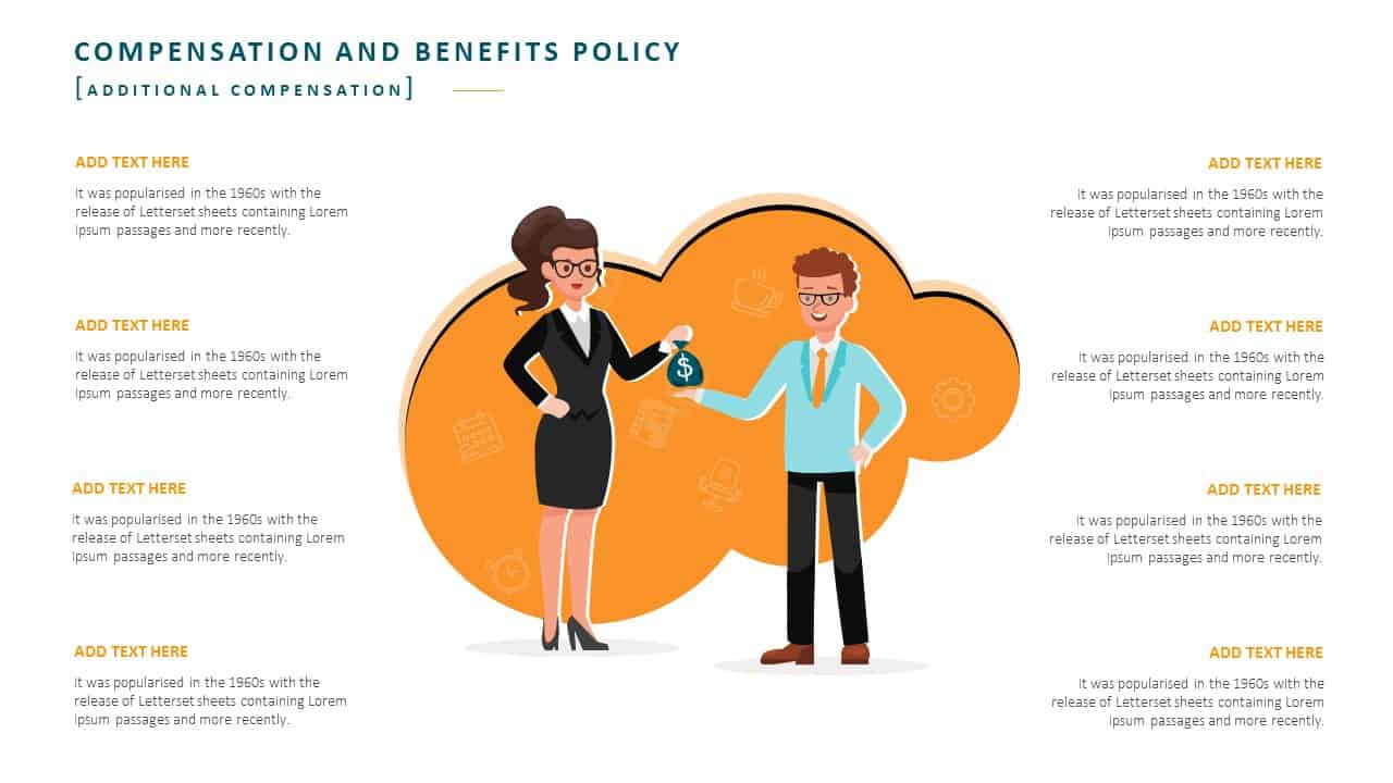 Employee Handbook PowerPoint Template Slide 15 Compensation Policy