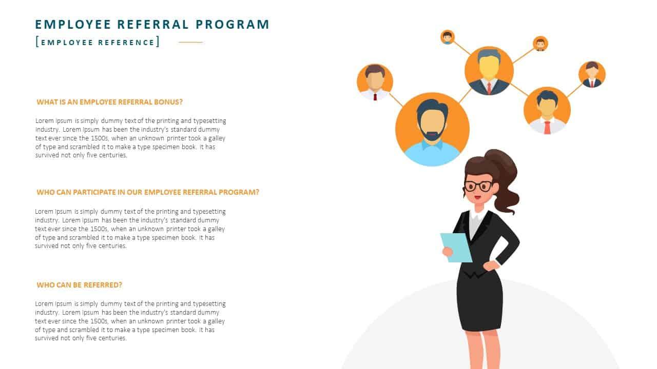 Employee Handbook PowerPoint Template Slide 18 Employee Reference
