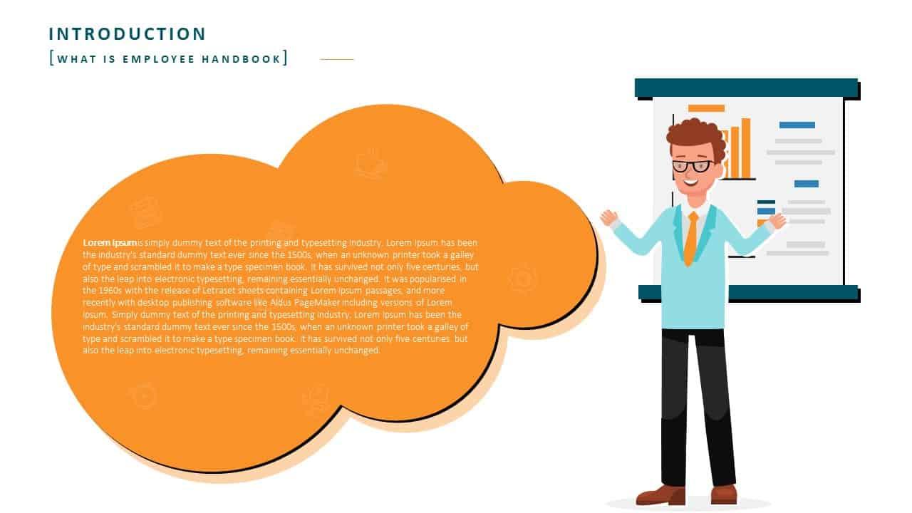 Employee Handbook PowerPoint Template Slide 2 Introduction