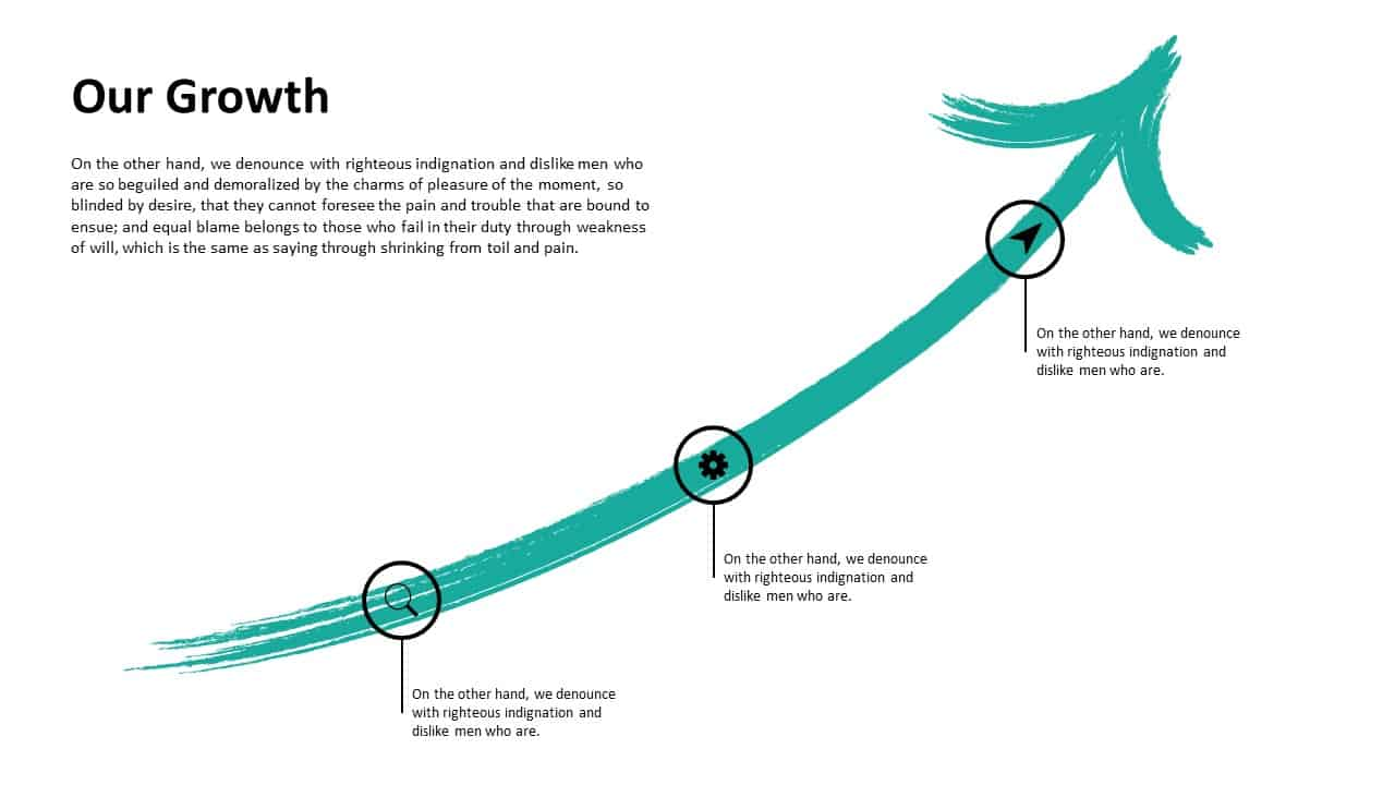 Investment Pitch Deck Growth Template