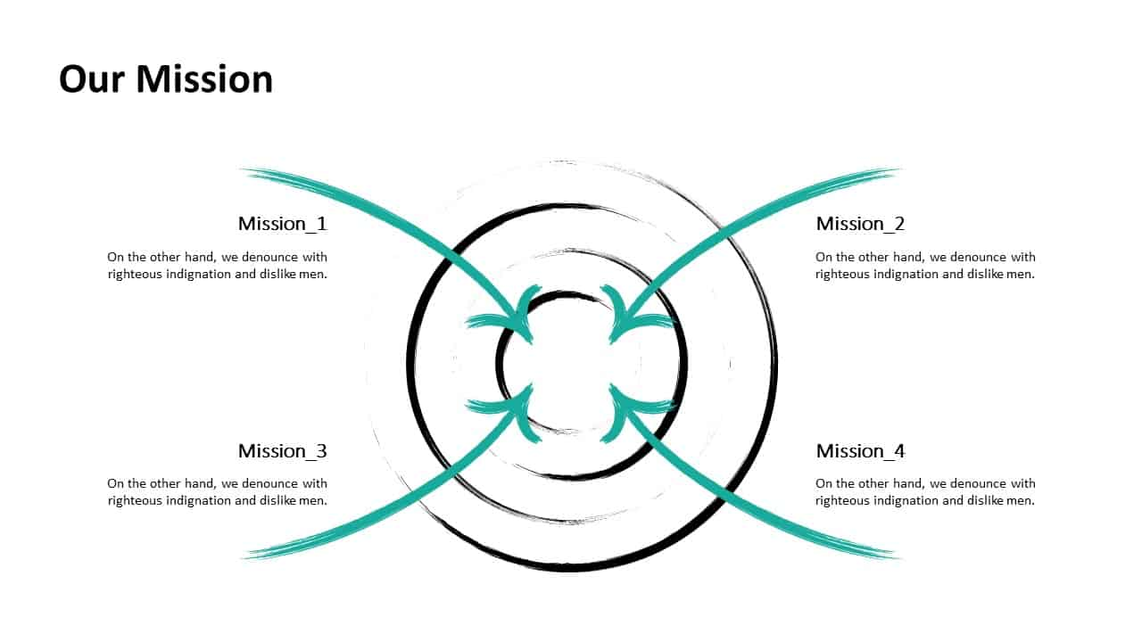 Investment Pitch Deck Mission Template