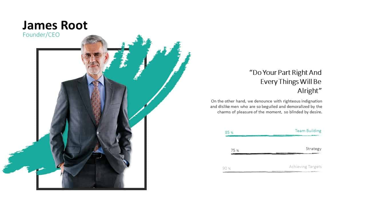 Investment Pitch Deck Root Template