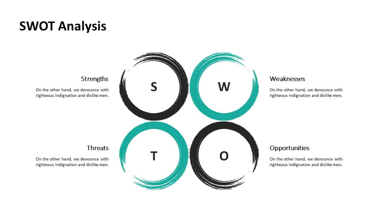 Investment Pitch Deck SWOT Analysis Template