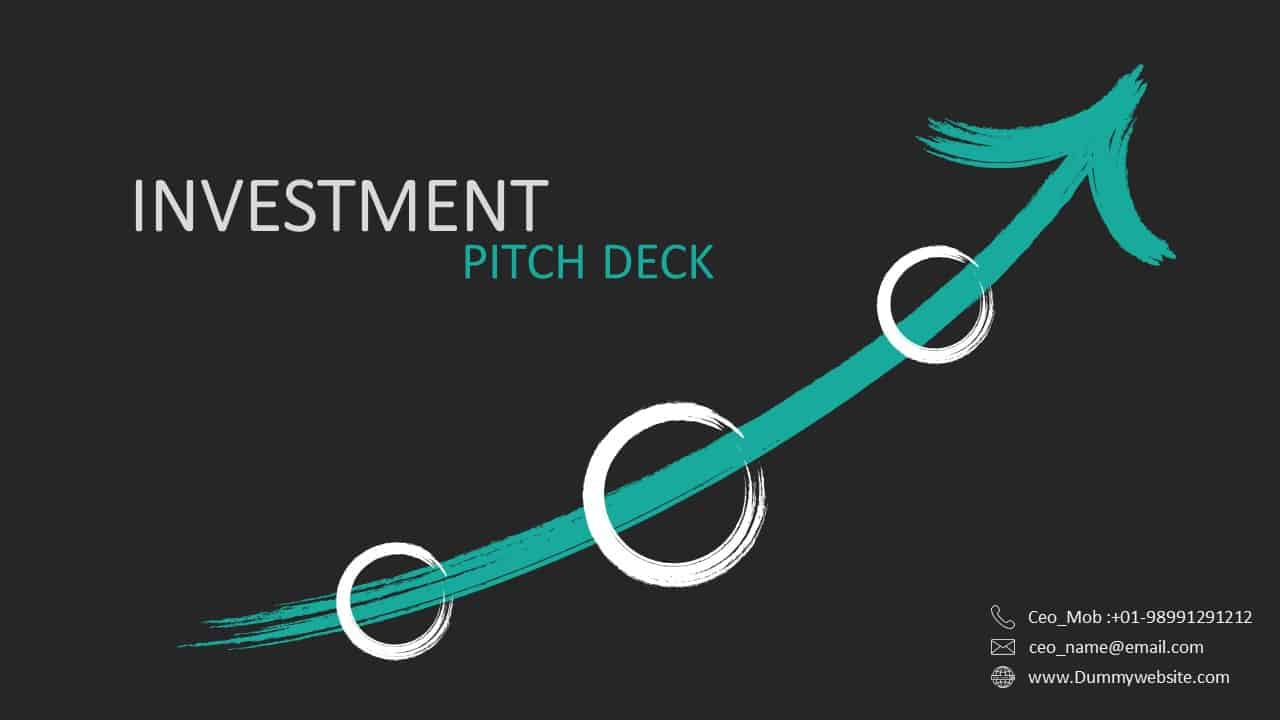 Investment Pitch Deck Template