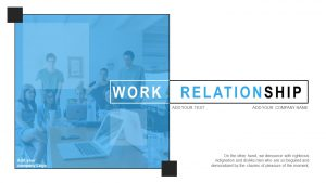 Work Relationship Template for PowerPoint