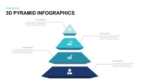 3D Pyramid Infographic Template for PowerPoint