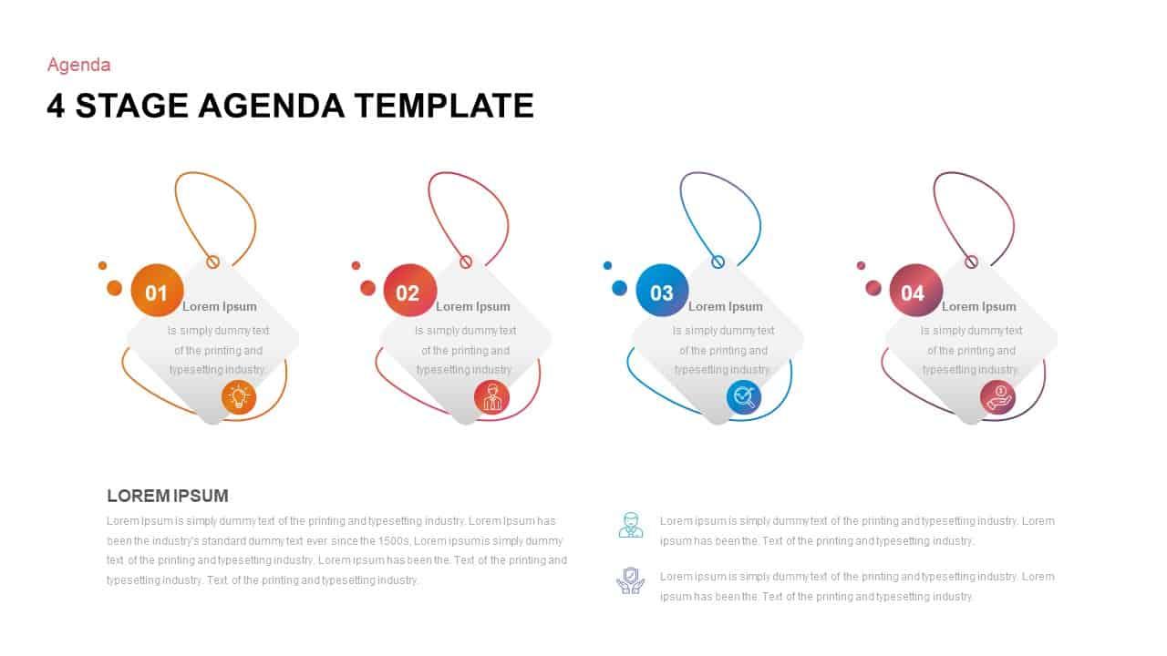 Agenda Ppt Template