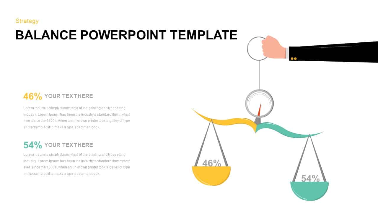 Balance PowerPoint Template Download