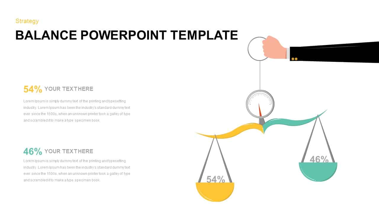 Balance PowerPoint Template Free