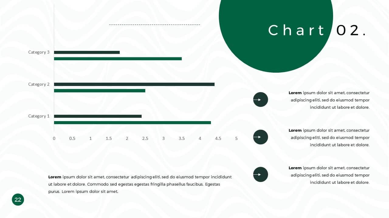 Business Presentation PowerPoint Template Chart 2