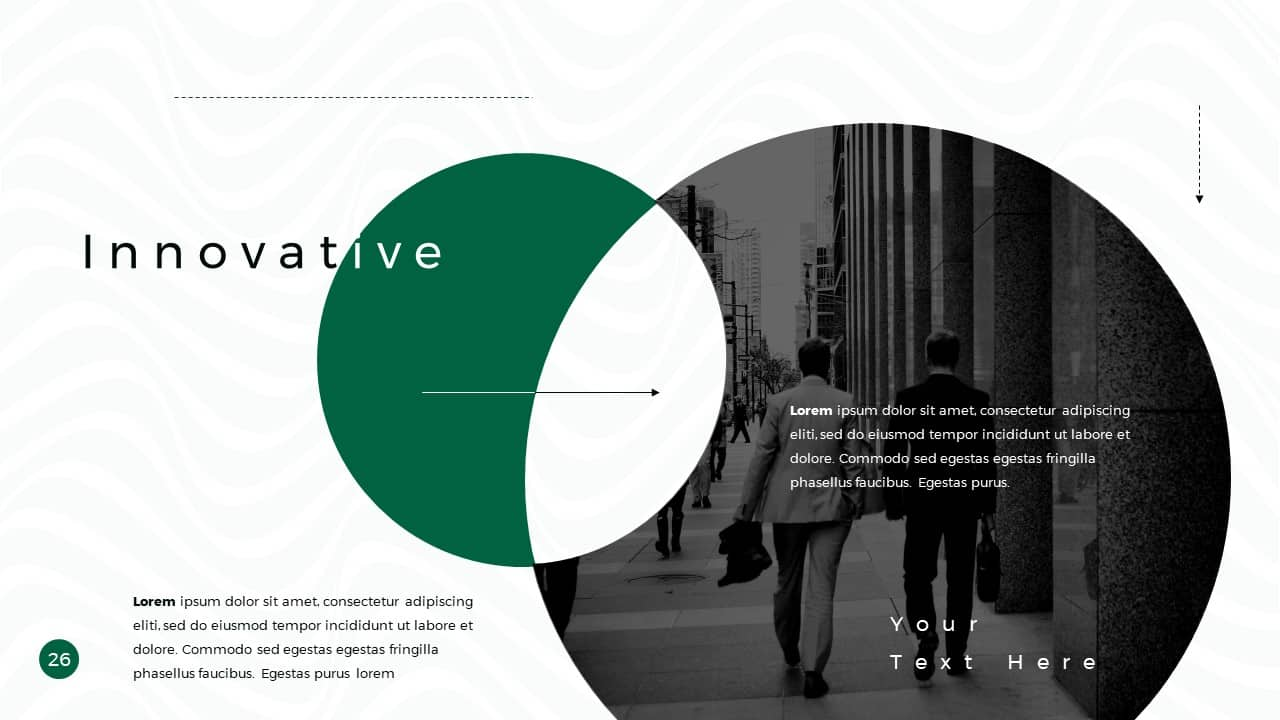 Business Presentation PowerPoint Template Innovative