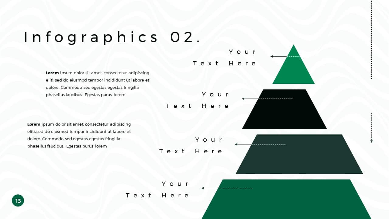 Business Presentation PowerPoint Template infographics