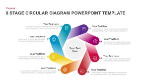 8 Step Circular Diagram PowerPoint Templates