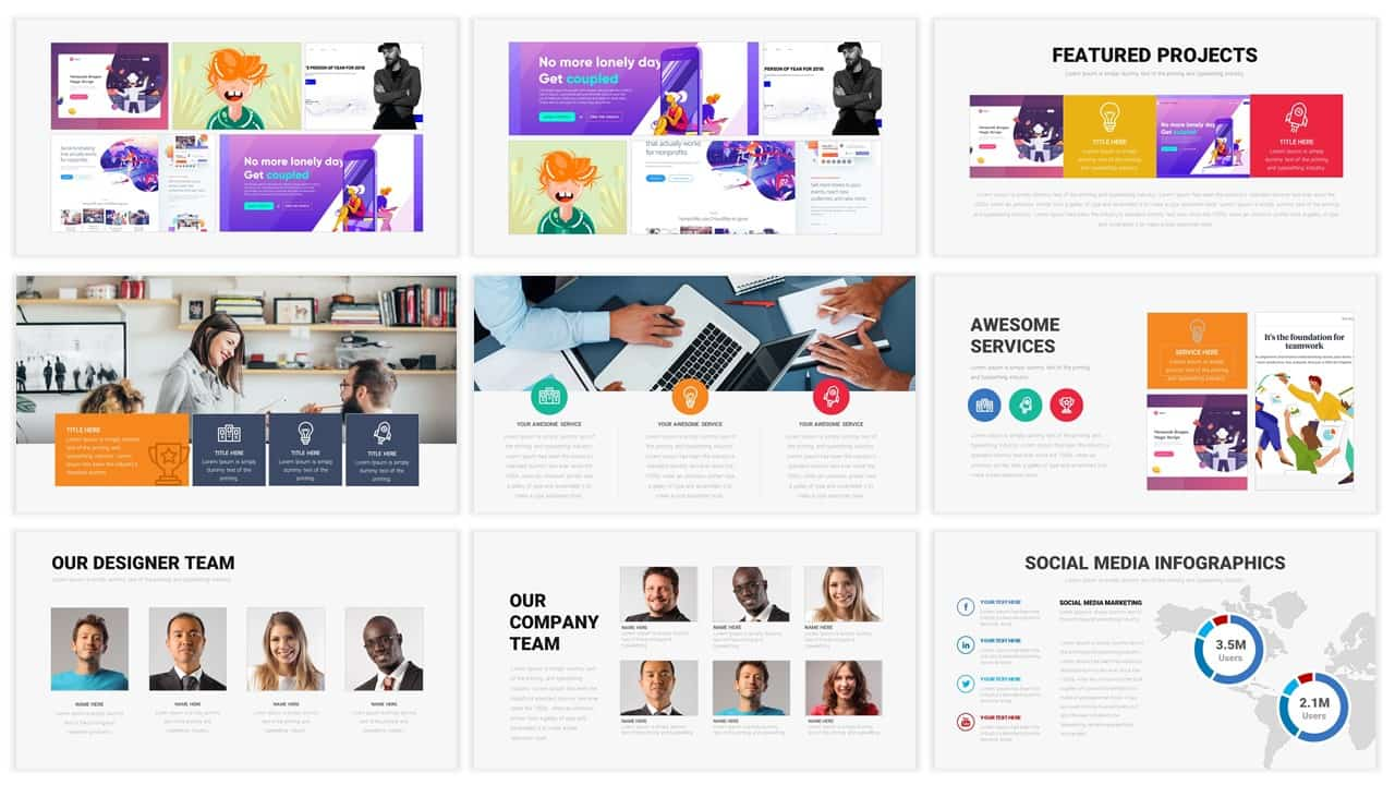 Corporate Ppt Templates for Download