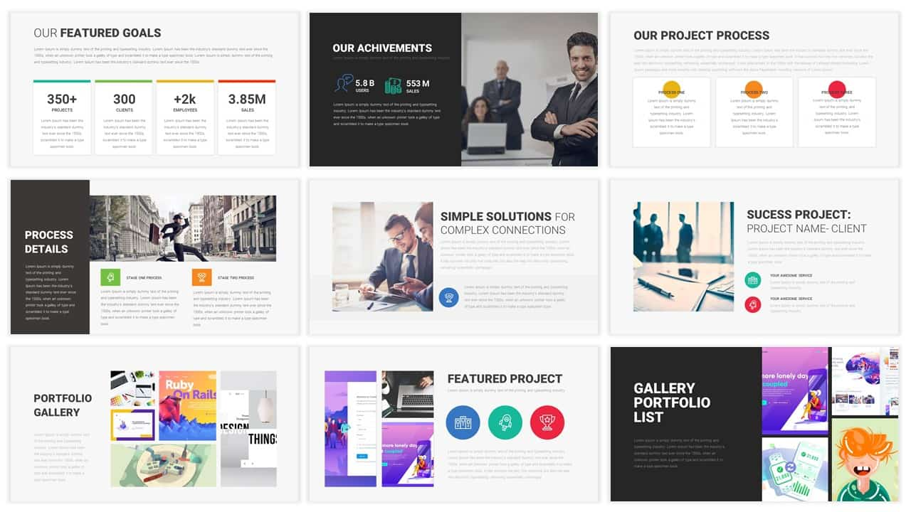 45 Free Business Powerpoint Templates And 15