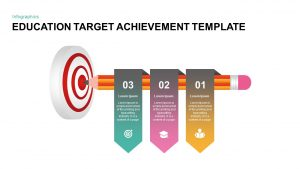 Education: Target Achievement Template for PowerPoint