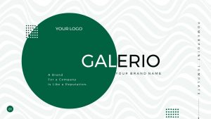 Galerio: Business Presentation PowerPoint Template