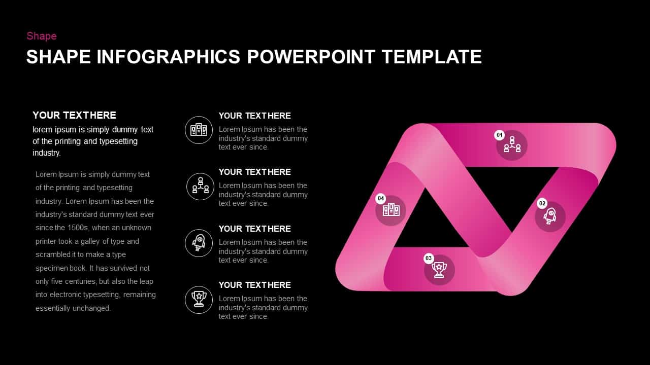 Infographic Shapes PowerPoint Template