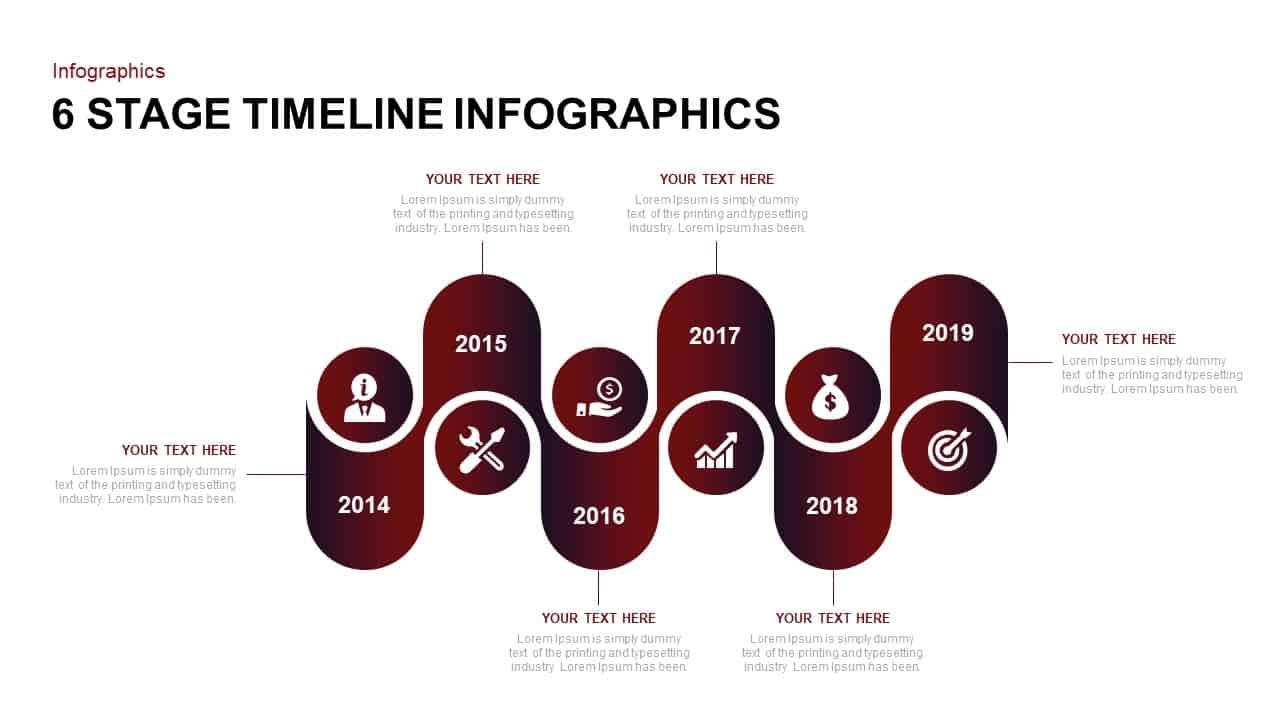 Infographic Timeline Template for PowerPoint
