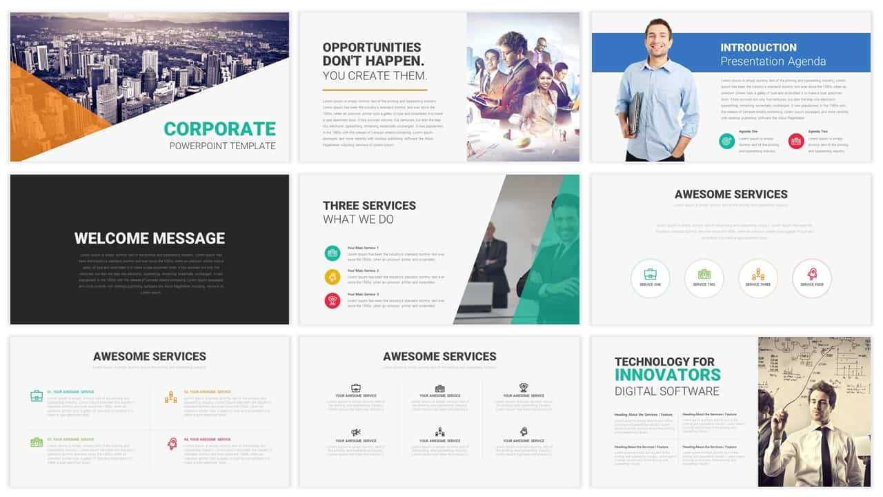Business Strategy Powerpoint Template Free 10
