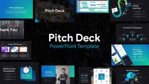 Pitch Deck PowerPoint Template for Presentation