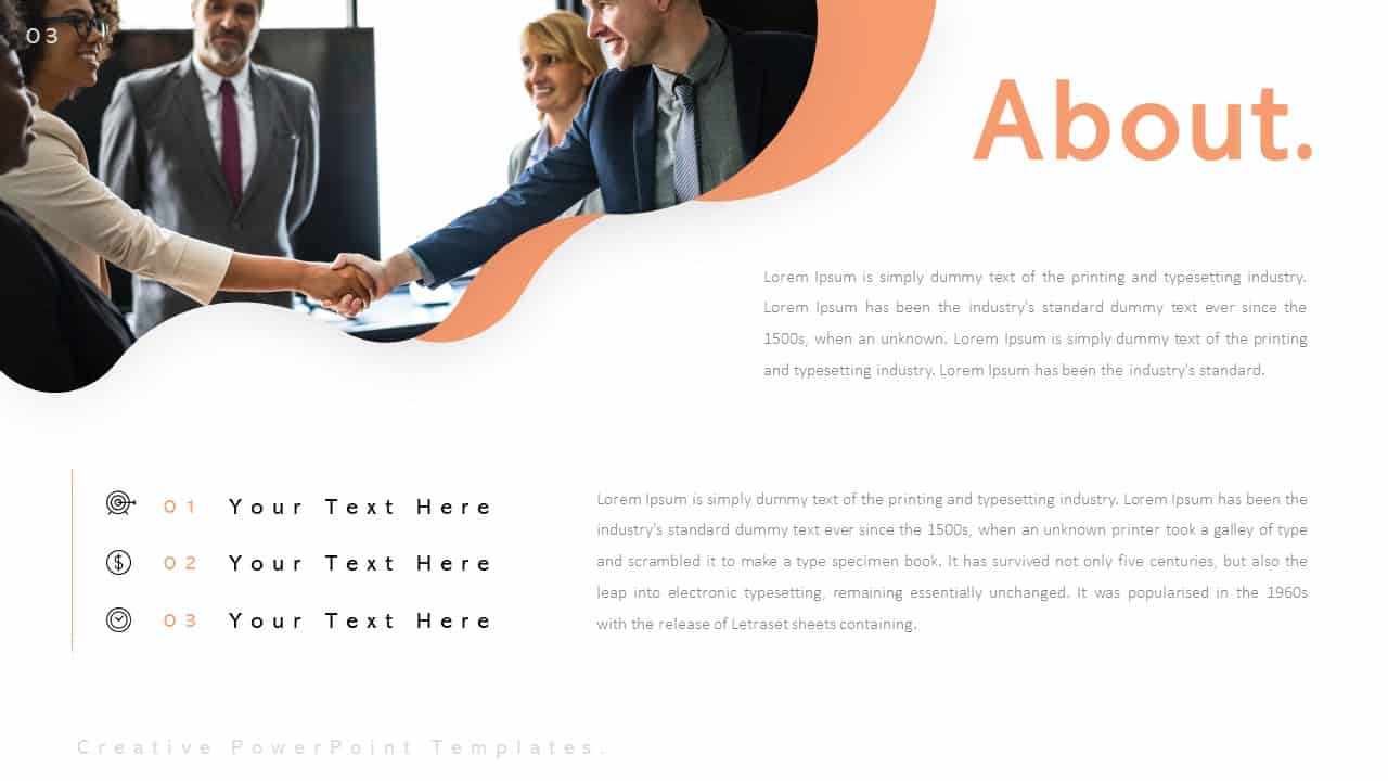 Creative PowerPoint Templates for Company Introduction