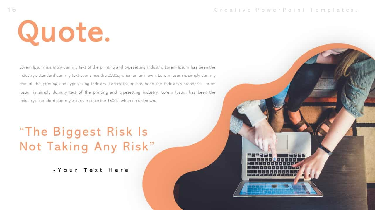 Creative Quote PowerPoint Templates