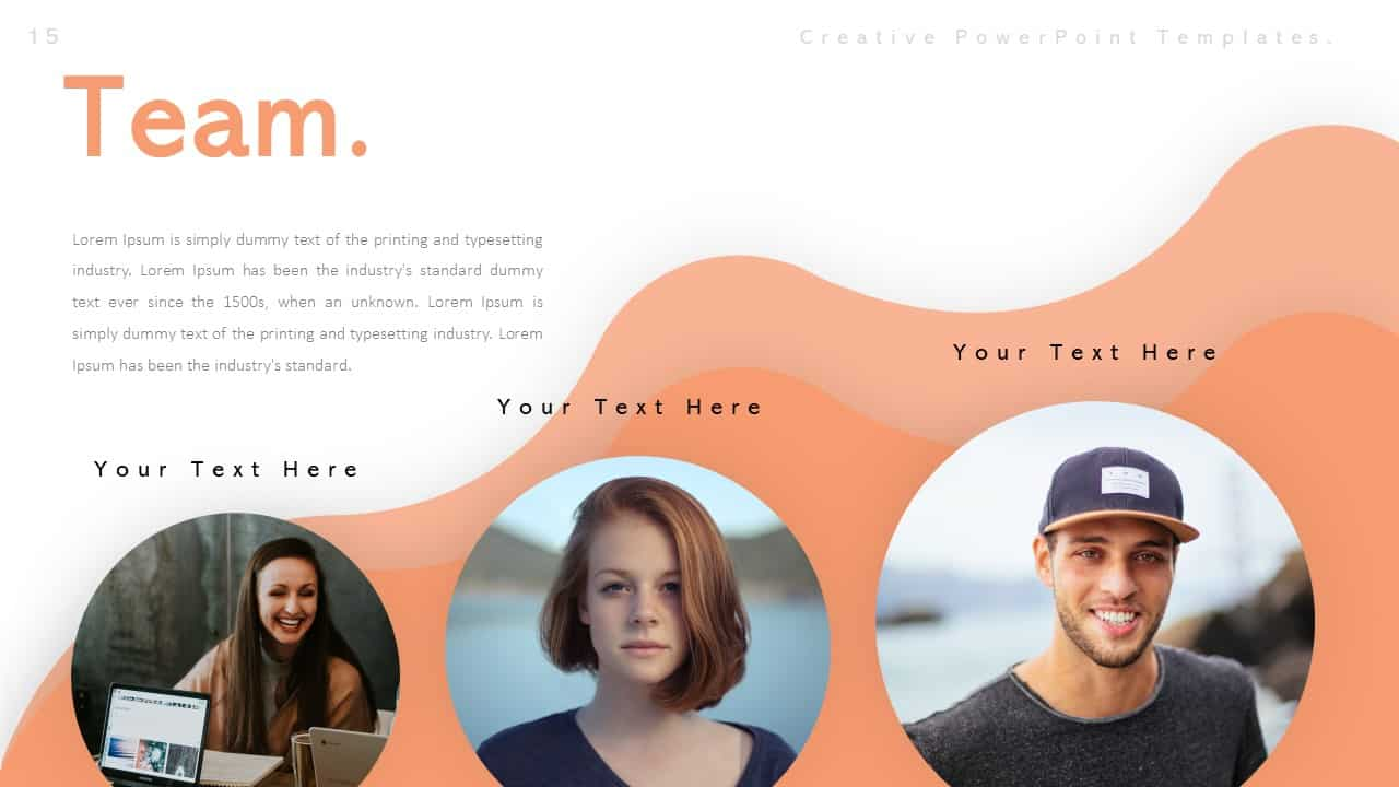 Creative Team PowerPoint Templates